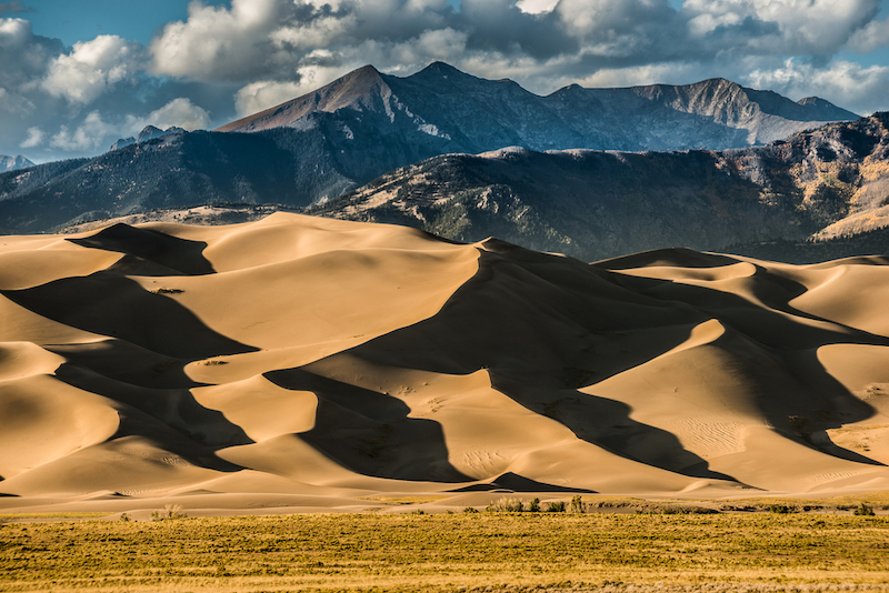 USA Great sand dunes