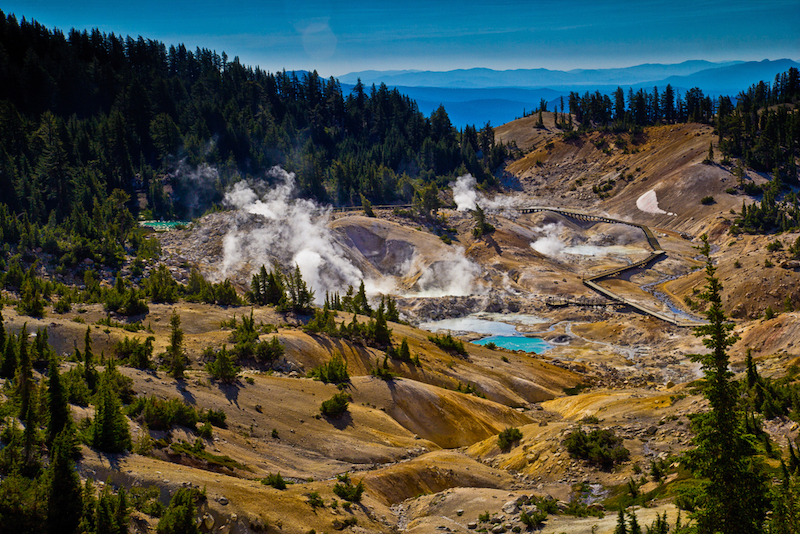 USA Lassen Volcanic