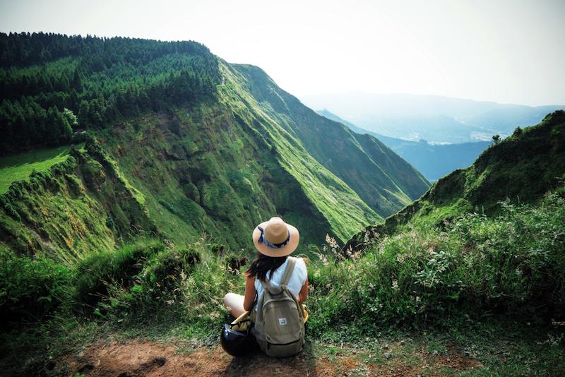 výhled na údolí