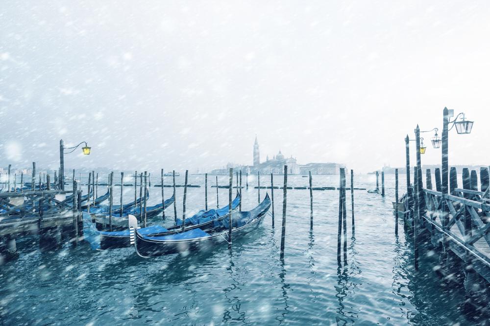 Benátky zima