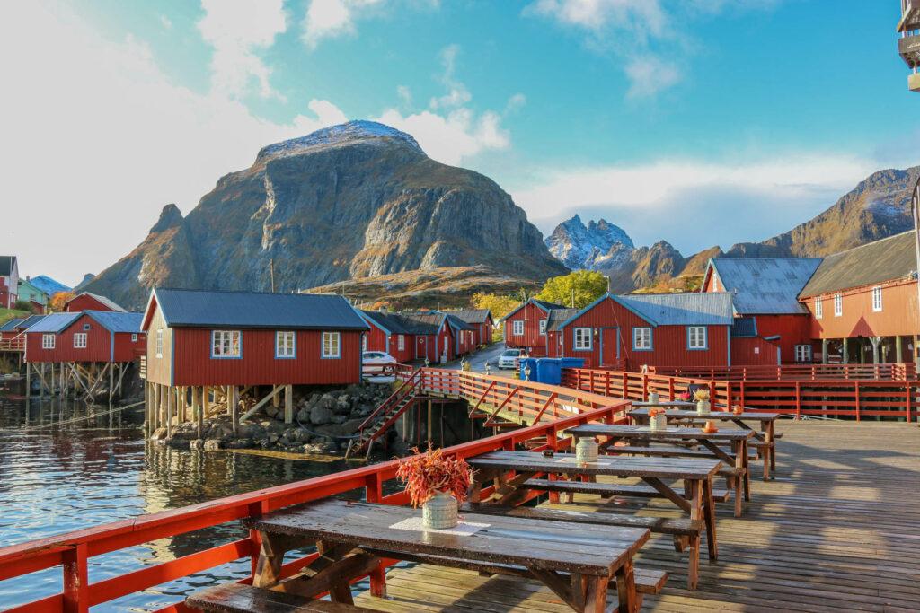 Tři na cestách Norsko