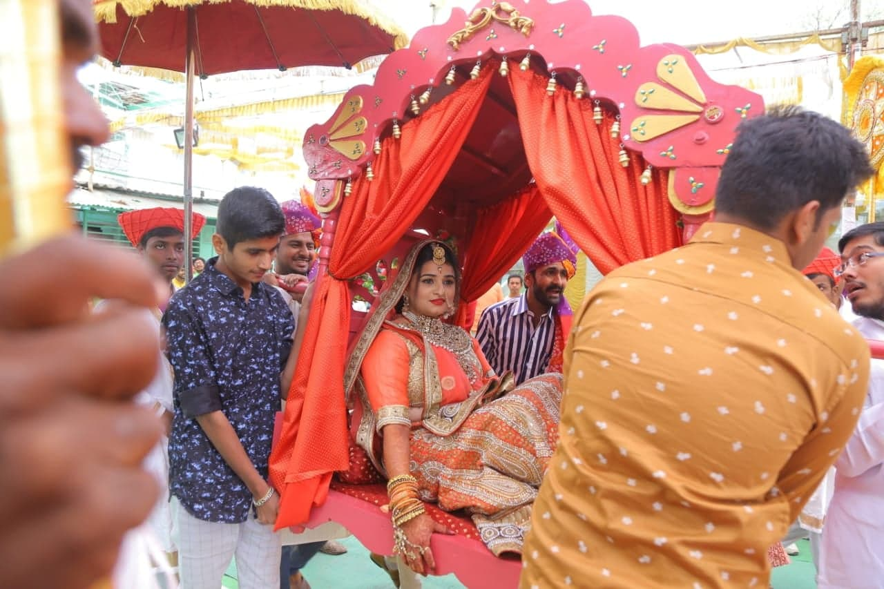 Šrédlová indická svatba